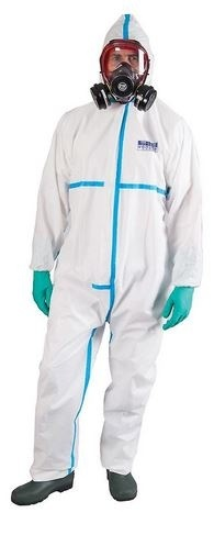 BIZTEX TYPE 4 SPRAY SUIT LARGE Personal Protective Equipment PPE