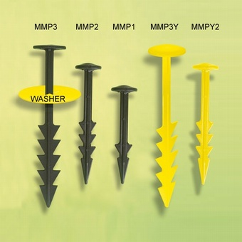 Mulch Mat Pegs MMP3 19cm MUL019 Ground Cover > Pegs
