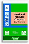 Levington F1 Seed & Modular Low Nutrient Compost