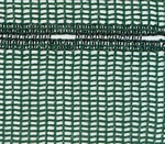 Shade & Shetler Tape Net Green 50% Shade